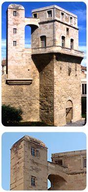 Hérault : Montpellier : Tour de la Babote (1740-1745). Tour construite sur les remparts comme observatoire, à l'origine.