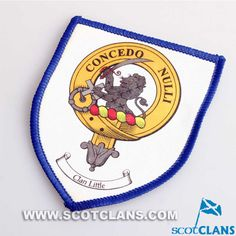Little Clan Crest Sew on Patch
