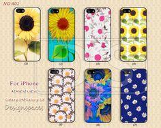 Sunflower, little Daisy iPhone 5 Case, iPhone 5c Case iPhone 4 Case iPhone 5s Case iPhone 4s Case Samsung Galaxy S3 Galaxy S4 -A01