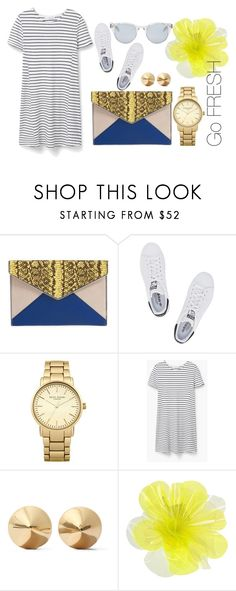 """Simple"" by laura-simulcikova on Polyvore featuring Rebecca Minkoff, adidas Originals, Topshop, MANGO, Eddie Borgo, DOUUOD, Sun Buddies, casual, casualoutfit and spring2016"