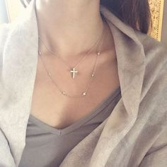 """""""Wildcat's Daily#jewelry#tiffany#style#necklace#cross#silver#gold#jotd#aotd#instagood#instalook#daily#dailylook#simple#fashion#style#selfie#today#daintyjewelry#cubiczirconia#instashop#accessories#wildcatjewelry#와일드켓부띠끄#쥬얼리#일상#셀카#티파니#십자가#목걸이#레이어드"""" Photo taken by @wildcat_boutique on Instagram, pinned via the InstaPin iOS App! http://www.instapinapp.com (07/13/2015)"""