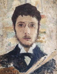 Bonnard Pierre (French, 1867-1947) Self portrait, 1889
