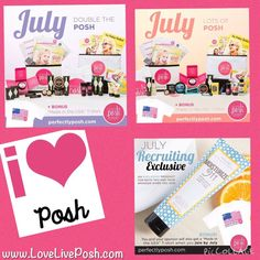 Have you thought about joining Perfectly Posh? We have two great kit options for July and a great bonus for those who join in July. If you would like to be apart of my team contact me. www.LoveLivePosh.com #pamper #pampering #PerfectlyPosh #Posh #PoshKits #Bonus #Sale #ILovePosh #LoveLivePosh #JoinMyTeam #July #BusinessOwner