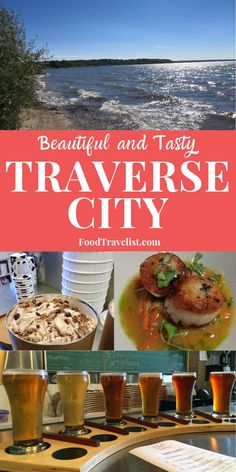 If you're looking for a Midwest destination with one of the best food scenes in the United States look no further than Traverse City, Michigan. Restaurants serving up local favorites and highlighting local ingredients. The best breweries and distilleries