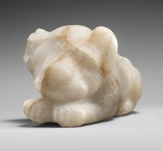 Lion Cub  Period: Early Dynastic Dynasty: Dynasty 1 Date: ca. 3100–2900 B.C. Geography: From Egypt; Said to be from Southern Upper Egypt, Gebelein (Krokodilopolis) Medium: Quartzite Dimensions: L. 23.4 x H. 12 x W. 12.5 cm (9 3/16 x 4 3/4 x 4 15/16 in.)