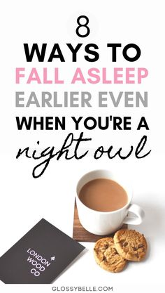 Sleeping early can be really hard if you're used to sleeping late at night. And if you're a natural night owl, hitting the sack early is probably even harder for you, but it's totally doable! Sleep Early, How To Wake Up Early, How To Sleep Well, Ways To Sleep, Night Routine, Bedtime Routine, Eat Better, Sleep Better, Ways To Fall Asleep
