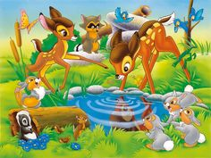 Exclusive Bambi and Faline For Free Download Image Wallpaper Download « Anime Cartoon Wallpaper