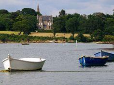 Fancy fields of Brittany
