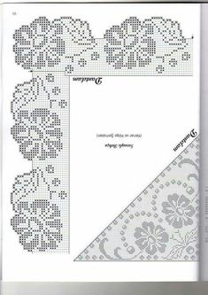 lots of Disney cross stitch here too with filet crochet patterns alsoIn red and green for Christmas tablecloth.This Pin was discovered by End Crochet Art, Crochet Motif, Crochet Designs, Crochet Doilies, Crochet Stitches, Free Crochet, Crochet Patterns, Filet Crochet Charts, Crochet Borders