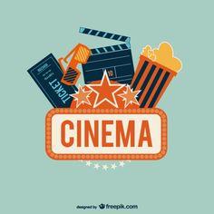 Cinema Art Free Vector