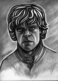 """Graphite Drawing - Tyrion Lannister - My Favorite Character of """"The Game of Thrones"""""""