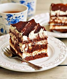 Unique Desserts, Delicious Desserts, Cookie Desserts, Dessert Recipes, Homemade Cake Recipes, Polish Recipes, Dessert Bread, Pumpkin Cheesecake, Sweet Cakes