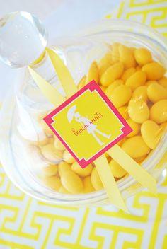 Yellow Preppy Baby Shower