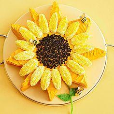 Sunflower Cake from Better Homes & Garden