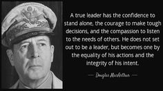 Four essential things Douglas MacArthur would tell President-elect Donald Trump - http://conservativeread.com/four-essential-things-douglas-macarthur-would-tell-president-elect-donald-trump/