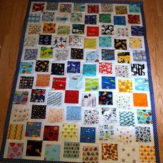 Threadbias: iSpy Quilts by Msminnesota Quilting Projects, Quilting Designs, Sewing Projects, Quilting Ideas, Scrappy Quilts, Children's Quilts, Snowball Quilts, I Spy Quilt, Doll Quilt