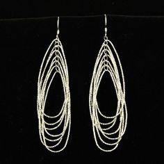 Sterling Silver Dangle Earrings by Jersica