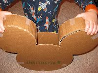 A Disney Mom's Thoughts: Mickey Mouse Pinata Tutorial