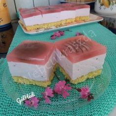 Kakaós nápolyi szelet Izu, Vanilla Cake, Pudding, Sweets, Snacks, Cookies, Food, Crack Crackers, Appetizers