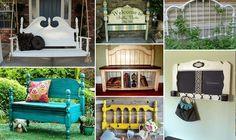 30 μοναδικές κατασκευές με παλιά κεφαλάρια κρεβατιών! | Φτιάξτο μόνος σου…