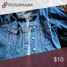 Jean jacket long sleeve Medium colored jean GAP Jackets & Coats Jean Jackets