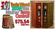 GOT WOOD YET? – Tesla Wood 160W APV w/ Temp.Ctrl – $75.54