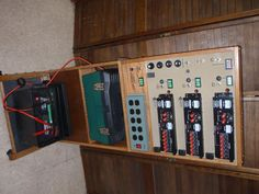 DC/AC Power Distribution Panel Part 2  Photo