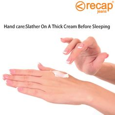 #HandCare: For soft and smooth hands, apply #moisturizer before going to bed. Let it work all night and take a shower in luke warm water to see the difference