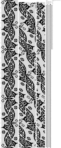 Bead Crochet Patterns, Bead Crochet Rope, Crochet Hooks, Embroidery Patterns, Knitting Patterns, Beaded Crochet, Fair Isle Chart, Beaded Lanyards, Yarn Inspiration