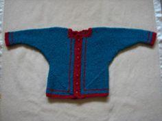 Ravelry: Mitred U Baby Jacket pattern by Megan Mills