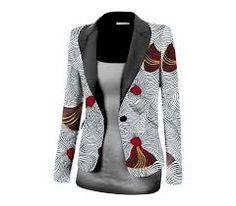Gorgeous ankara jackets for ladies - DarlingNaija African Print Dresses, African Print Fashion, African Fashion Dresses, African Dress, Fashion Outfits, African Lace, African Attire, African Wear, Ankara Styles
