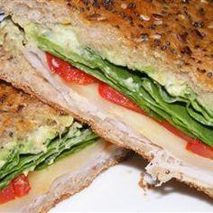 Turkey Avocado Panini Allrecipes.com