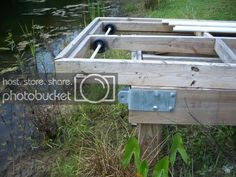 Esshups floating dock | Property Projects & Construction | Pond Boss Forum Fireplace Grate, Kubota Tractors, Floating Dock, Carriage Bolt, Galvanized Pipe, Nuts And Washers, 55 Gallon, Pvc Pipe, Pond