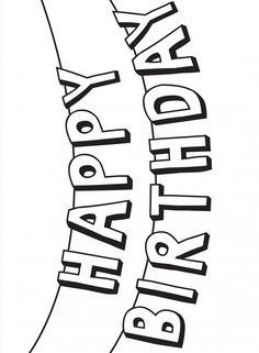 happy birthday celebration text stars drawing   geburtstag malvorlagen, happy birthday schriftzug