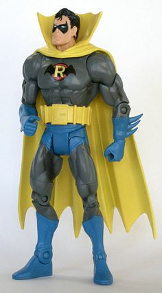 Custom DCUC Action Figure of DC Comics' Earth 2 Silver Age Robin. By AstroJoe62.