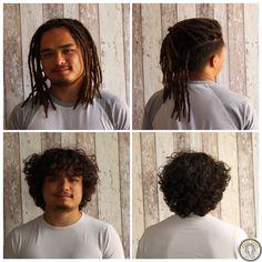 Tommy m'avait contacté, six mois auparavant, pour une création d'extensions dreads. Je lui avais conseillé de laisser pousser ses cheveux pour que je puisse réaliser une belle création de locks. Ma création a, d'abord, débuté par une coupe classique. Une fois les dreadlocks posées, je les ai soignées avec les produits naturellement adaptés aux locks. Tommy peut attacher ses dreads, il est ravi du résultat. #dreads #dreadlocks #locks #dread #dreadstyles #dreadstyle… Dreadlocks, Extensions, Creations, Hair Styles, Beauty, Classic, Products, Hair Plait Styles, Hair Makeup