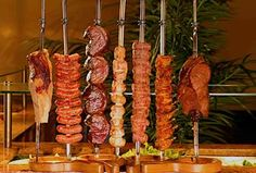 """If you have never had the """"all you can eat"""" Brasilian meat feast known as Churrascaria, here is what the most common cuts of meat look like."""