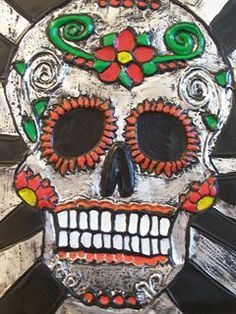 Check out student artwork posted to Artsonia from the 3D Design: Day of the Dead Metal Tooling project gallery at Greater Johnstown High School.