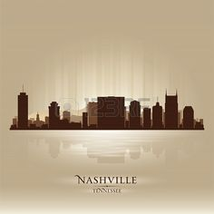 Nashville skyline Nashville Skyline, Nashville Tennessee, 2nd City, Illustration Art, Illustrations, My Town, Artsy Fartsy, Country Music, My Dream