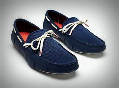 Rubber penny loafers and moccasins by Swims