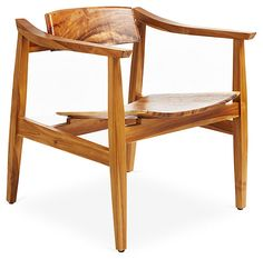 Jun Chair, Natural | Great Character, Gorgeous Style | One Kings Lane
