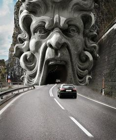 Taste the traffic tunnel