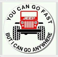 #jeep #lovelydriven #icangoanywhere