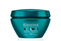 """Once a week I'll use a hair mask, and if I'm really patient, I'll cover my strands with a plastic cap and go to bed with it on. When I rinse in the morning, my hair feels stupid-soft, like silk. Lately, I've been using Kérastase's Masque Thérapiste — like all Kérastase products, it smells delicious.""Kérastase Masque Thérapiste, $62.50, available at Kérastase. #refinery29 http://www.refinery29.com/beauty-editor-hair-care-tips#slide-10"