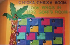 A whole year of bulletin board ideas (from: Mrs. Goff's Pre-K Tales)