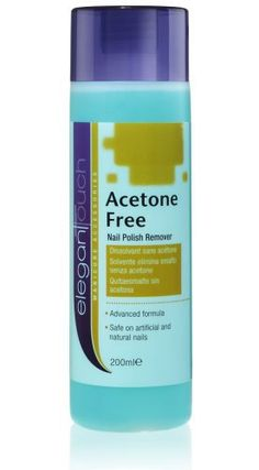Elegant Touch Nail Polish Remover - Acetone Free 200ml - http://www.css-tips.com/product/elegant-touch-nail-polish-remover-acetone-free-200ml/