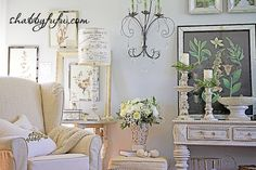 A home design, interior decorating blog with tips on romantic lifestyle, shabby chic and french country style. DIY, crafts and recipes