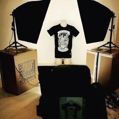 #lapatcheria #patch #patches #picoftheday #backstage #saintmichael #tshirt #shootingday #photooftheday