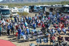 Escapee's RV Club Rally in Quartzsite.