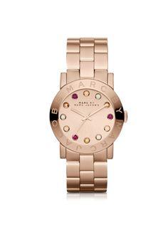 c71c7b2c891a96 Marc by Marc Jacobs Amy Dexter Glitz 36.5mm Bracelet Watch Dexter, Bracelet  Watch,
